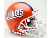 Illinois Fighting Illini Riddell Deluxe Replica Helmet