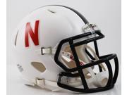 Nebraska Huskers Speed Mini Helmet - Alt White