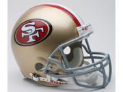 San Francisco 49ers Pro Line Helmet