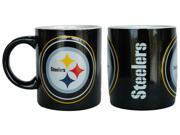 Pittsburgh Steelers Coffee Mug - 14oz Sculpted Warm Up 9SIA62V4S69794