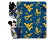West Virginia Mountaineers Disney Hugger Blanket