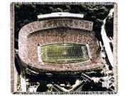 "University of Georgia Sanford Stadium Tapestry Throw Blanket 50"" x 60"""