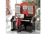 Mr Christmas Magical Maestro Mouse With Piano Musical Table Top Decoration 14687 image