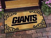"""New York Giants NFL Team Logo Doormat 24""""x 39"""""""