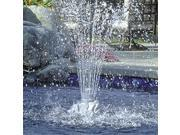 """11"""" Rock Shaped Floating Fountain for Swimming Pools or Spas"""