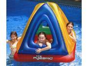 "52"" Water Sports Inflatable Pyramid Habitat Raft for Swimming Pool or on Land"