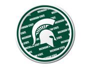 """Pack of 96 NCAA Michigan State Spartans Round Tailgate Party Paper Plates 7"""""""""""" 9SIA09A48G1332"""
