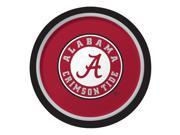 """Club Pack of 96 NCAA University of Alabama Crimson Tide Paper Party Dinner Plates 9"""""""""""" 9SIA09A48H2749"""