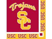 Club Pack of 240 NCAA USC Trojans 2-Ply Tailgating Party Beverage Napkins 9SIA09A48J7239