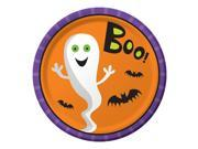 """Club Pack of 96 Creepy Characters Silly Ghosts """"""""FUN"""""""" Halloween Dinner Plates 9"""""""""""" 9SIA09A42Z9326"""
