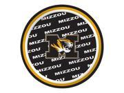 "Pack of 96 NCAA Missouri Mizzou Tigers Round Tailgate Party Paper Plates 7"""""" 9SIA09A48H3061"