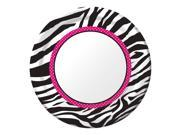 "Club Pack of 96 Pink Zebra Boutique Disposable Round Paper Party Dinner Plates 9"""""" 9SIA09A34D4614"