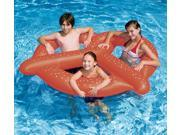60 Water Sports Inflatable Swimming Pool 3 Person Giant Pretzel Float