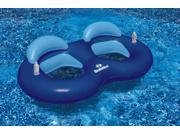 """83.5"""""""" Recliner Ring Duo Swimming Pool Float with Cup Holders"""" 9SIA09A48R2688"""