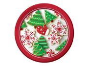 "Club Pack of 96 Holiday Treats Disposable Paper Party Luncheon Plates 7"""""" 9SIA09A3580865"