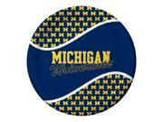 Pack of 96 NCAA Michigan Wolverines Round Tailgate Party Paper Dinner Plates 9SIA09A48G3477
