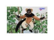 Set of 2 Lifelike Handcrafted Extra Soft Plush Madagascar Lemur Stuffed Animals 15