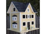 18.5 Fully Functional Colonial Cottage for Purple Martins Outdoor Garden Birdhouse