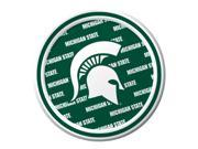 "Pack of 96 NCAA Michigan State Spartans Round Tailgate Party Paper Plates 7"""""" 9SIA09A48G1332"