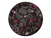 """Club Pack of 96 Bridal Bash Disposable Paper Lunch Plates 7"""""""""""" 9SIA09A34D2747"""
