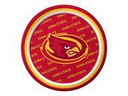 "Pack of 96 NCAA Iowa State Cyclones Round Tailgate Party Paper Plates 7"""""" 9SIA09A48H0540"