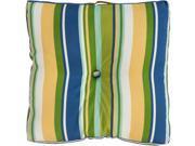 """22"""""""" Splashy Multicolored Stripes Decorative Square Floor Cushion"""" 9SIA09A3V12020"""