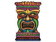 "Club Pack of 12 Jumbo Tropical Hawaiian Luau Tiki Cutout Decorations 36"""""" 9SIA09A3AD1386"