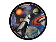 """Club Pack of 96 Multi-Color Space Blast Paper Luncheon Party Plates 7"""""""""""" 9SIA09A4342106"""