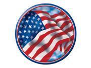 """Club Pack of 96 Patriotic Celebration Disposable Paper Party Dinner Plates 9"""""""""""" 9SIA09A34P3052"""
