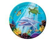 "Club Pack of 96 Ocean Party Disposable Paper Party Banquet Dinner Plates 9"""""" 9SIA09A34D3087"