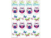 "Club Pack of 96 Owl Pal Birthday Stickers 8.25"""""" 9SIA09A4357312"