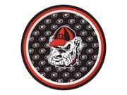 "Pack of 96 NCAA Georgia Bulldogs Round Tailgate Party Paper Plates 7"""""" 9SIA09A48G2763"