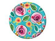 "Club Pack of 96 Flower Blooms Disposable Paper Party Banquet Dinner Plates 10"""""" 9SIA09A34D2081"