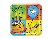 """Club Pack of 96 Cake Celebrations Disposable Paper Party Dinner Plates 9"""""""""""" 9SIA09A34D2890"""