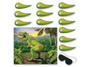 "Club Pack of 24 Pin the Tail on the Dinosaur Birthday Party Games 21.5"""""" 9SIA09A7211441"