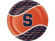 """Club Pack of 96 Navy Blue and Orange Syracuse University Disposable Plates 8.75"""""""""""" 9SIA09A74Y7046"""