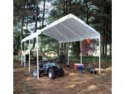 10x20 Hercules 8 Leg Canopy 2 Pipe with top only
