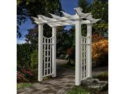 Fairfield Pathway Arbor w Trellis Side Panels