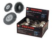 Tekton 8011 30-pc. Wire Wheel & Cup Brushes
