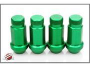 Password:JDM Aluminum Lug Nuts Green (16 Pack Extended Close End) 12 x 1.5