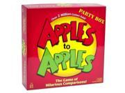 Mattel Apples to Apples Party Box - The Game of Hilarious Comparisons