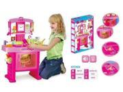 Kitchen Set with Lights and Sounds, everything included in the picture, great qualtiy and color