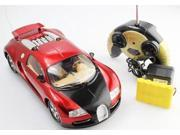 Remote Control Full Function Bugatti Veyron 1:16 RTR RC Car Remote Control Bugatti with Rechargeable Batteries