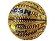Jesn Sport Official No. 7 Indoor/Outdoor Children's Kid's Toy Basketball, Add On for Sports Playsets (Wave Pattern)