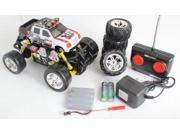 Extreme Monster Drifting Truck 4x4 High Quality (White) Cadillac Escalade 1:18 Electric RTR Rc Truck, Remote Control Monster Truck with Extra Grip Tires and Rechargeable Batteries