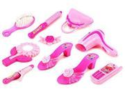 Modern Beautiful '59 Pretend Play Toy Fashion Beauty Play Set w/ Assorted Beauty Accessories