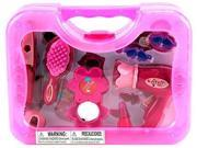 My First Make Up Case Pretend Play Toy Fashion Beauty Play Set w/ Assorted Beauty Accessories