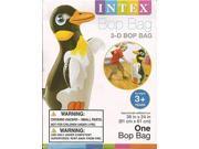 Intex 3D Bop Bag Blow Up Inflatable Penguin