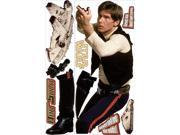 Star Wars Classic Han Solo Peel & Stick Giant Wall Decal
