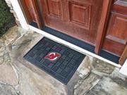 "19""x30"" New Jersey Devils Medallion Door Mat"